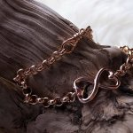 Armband, Silber rosé vergoldet, CHF 36.00